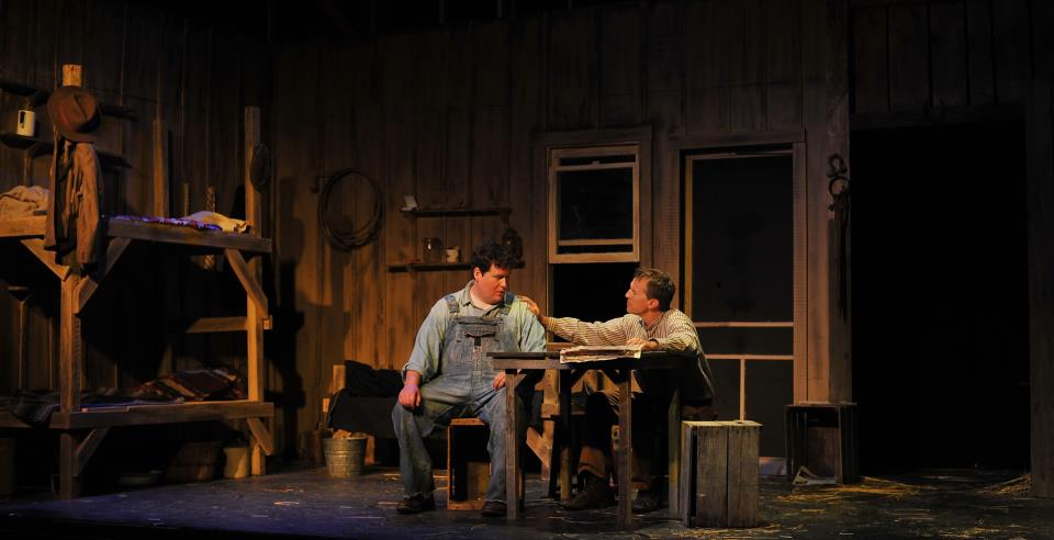 Image result for of mice and men stage