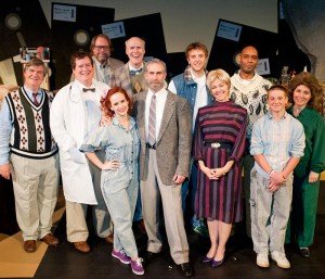 the cast of Roger's Version.  Blackbird Theater, Summer 2014.  Photo by John Gentry Photography.